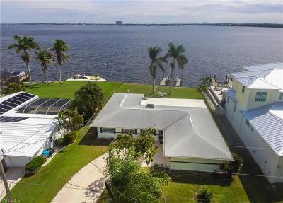 Cape Coral Single Family Home Pending With Contingencies: 5665 Riverside Dr