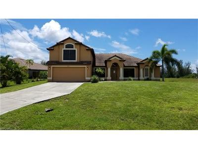 Cape Coral Single Family Home For Sale: 3814 NW 5th Ter