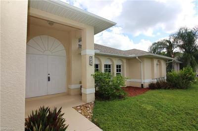 Cape Coral FL Single Family Home For Sale: $254,900