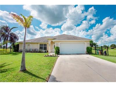 Cape Coral Single Family Home For Sale: 3254 NW 21st Ter
