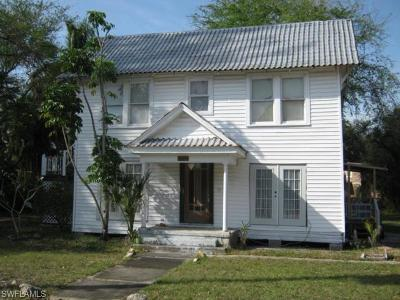 Fort Myers Single Family Home For Sale: 1632 Evans Ave