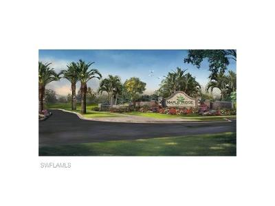 Ave Maria Single Family Home For Sale: 5310 Ferrari Ave
