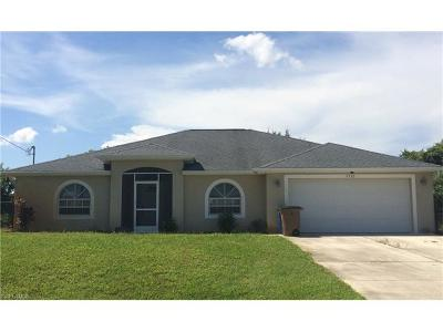 Lehigh Acres Single Family Home For Sale: 2703 26th St SW