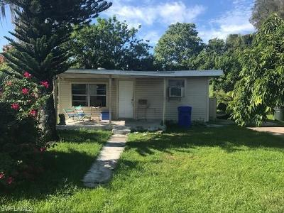 Fort Myers Single Family Home For Sale: 3318 Thomas St