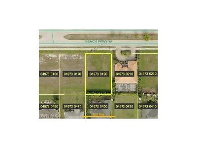 Cape Coral FL Residential Lots & Land For Sale: $55,000