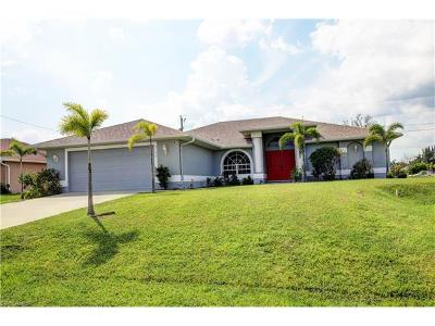 Cape Coral Single Family Home For Sale: 2132 SW 7th Pl