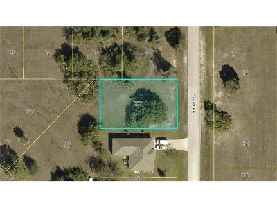 Cape Coral FL Residential Lots & Land For Sale: $11,900