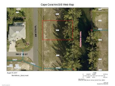 Cape Coral Residential Lots & Land For Sale: 2241 SW 17th Pl