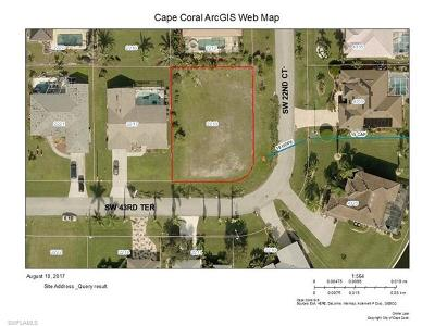Cape Coral FL Residential Lots & Land For Sale: $43,800