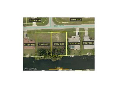 Charlotte County, Collier County, Desoto County, Glades County, Hendry County, Lee County, Sarasota County Residential Lots & Land For Sale: 2302 SE 8th St