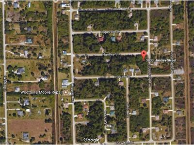 Fort Myers Residential Lots & Land For Sale: 3833 Huntley St