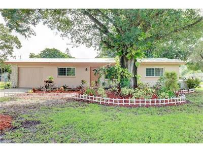 North Fort Myers Single Family Home Pending With Contingencies: 7427 Coon Rd