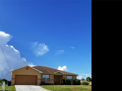 Lehigh Acres Single Family Home For Sale: 4000 8th St SW