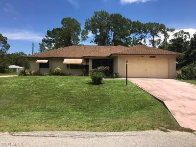 Lehigh Acres Single Family Home For Sale: 222 Hamilton Ave