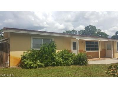 Lehigh Acres Single Family Home For Sale: 16 Michigan Rd