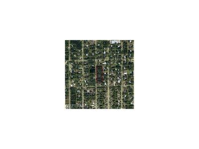 Hendry County Residential Lots & Land For Sale: Calhoun St