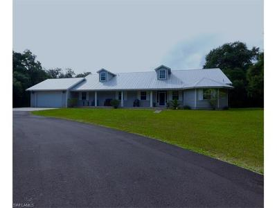 Glades County Single Family Home For Sale: 1658 Frontier Cir