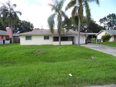 Fort Myers Single Family Home For Sale: 14050 Marquette Blvd