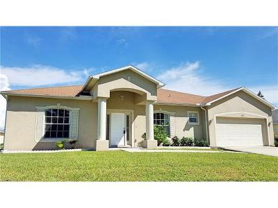 Cape Coral FL Single Family Home For Sale: $205,000