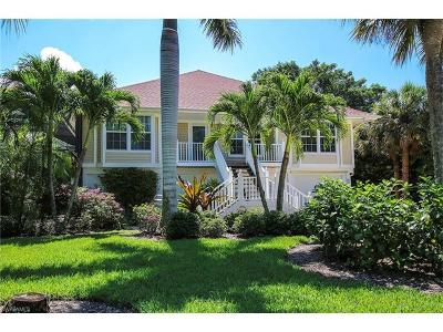Sanibel Single Family Home For Sale: 1396 Tahiti Dr