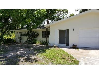 Fort Myers Single Family Home For Sale: 13625 Caribbean Blvd