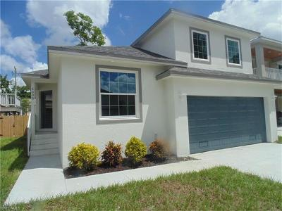 Fort Myers Single Family Home For Sale: 6096 Waterway Bay Dr
