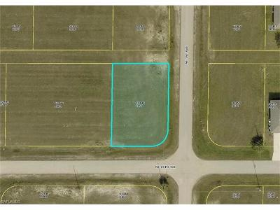 Lee County Residential Lots & Land For Sale: 25 NE 15th Pl
