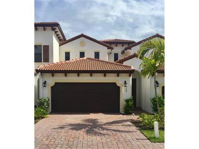 Fort Myers Condo/Townhouse For Sale: 15821 Portofino Springs Blvd #109