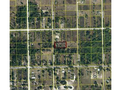 Clewiston Residential Lots & Land For Sale: 275 N Estribo St