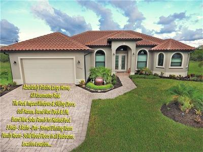 Cape Coral FL Single Family Home For Sale: $499,500