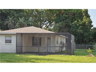 North Fort Myers Single Family Home For Sale: 420 Redlin St