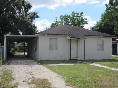 Fort Myers Single Family Home For Sale: 3128 Market St