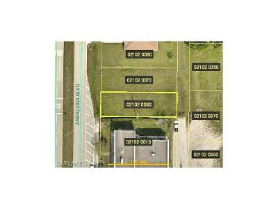 Cape Coral Residential Lots & Land For Sale: 1615 Andalusia Blvd