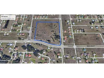 Cape Coral Commercial Lots & Land For Sale: 1625 Embers Pky W