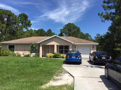 Lehigh Acres Single Family Home For Sale: 3109 Sunshine Blvd