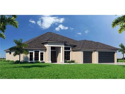 Cape Coral Single Family Home For Sale: 416 NW 35th Pl