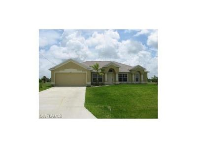 Cape Coral Single Family Home For Sale: 3009 NW 42nd Pl