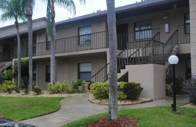 North Fort Myers Condo/Townhouse For Sale: 5735 Foxlake Dr #6