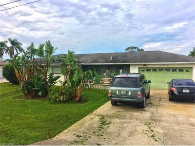 Fort Myers Single Family Home For Sale: 13319 Marquette Blvd