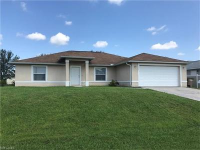 Cape Coral FL Single Family Home For Sale: $199,000