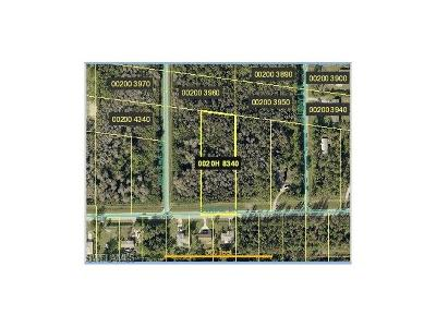 Bonita Springs Residential Lots & Land For Sale: 10261 Strike Ln