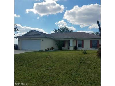 Cape Coral Single Family Home For Sale: 2900 NW 19th Pl