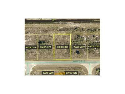 Lehigh Acres FL Residential Lots & Land For Sale: $5,200