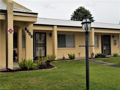 Cape Coral Condo/Townhouse For Sale: 4608 SE 4th Pl #3