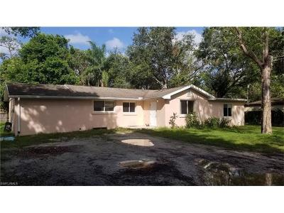 North Fort Myers Single Family Home For Sale: 1529 Piney Rd