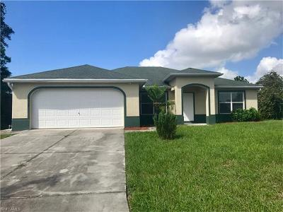 North Port Single Family Home For Sale: 3939 Bridge Dr