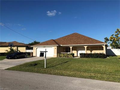 Cape Coral FL Single Family Home For Sale: $329,500