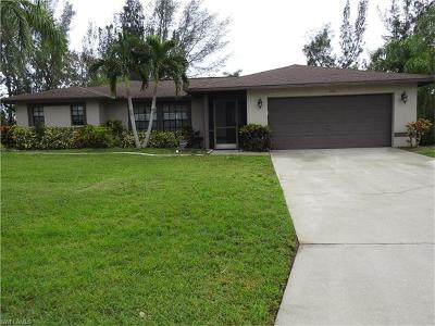 Cape Coral Single Family Home For Sale: 206 SE 20th St