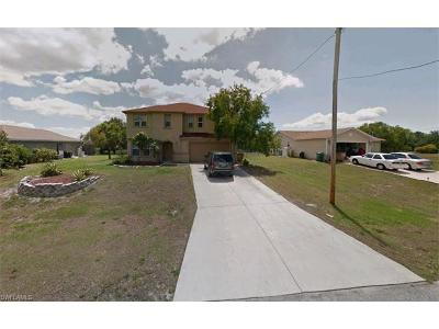 Cape Coral Single Family Home For Sale: 1900 NW 17th St