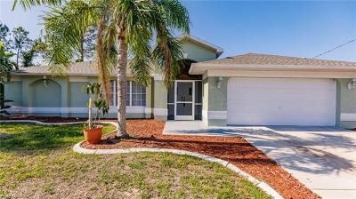 Lehigh Acres Single Family Home For Sale: 2517 9th St W